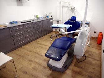 Tourisme dentaire en Espagne : Salle de soins de la clinique dentaire en Espagne